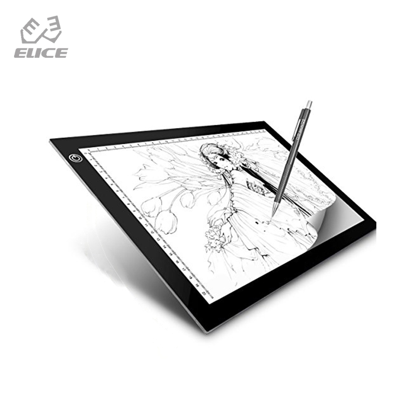 Learned Led Graphic Tablet Writing Painting Light Box Copy Drawing Board Digital Tablet Artcraft A4 Copy Plate Led Toys & Hobbies Drawing Toys
