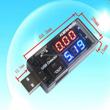 USB Charger Doctor Current Voltage Mobile Power USB Charger Current and Voltmeter Ammeter Voltage USB Charger Tester