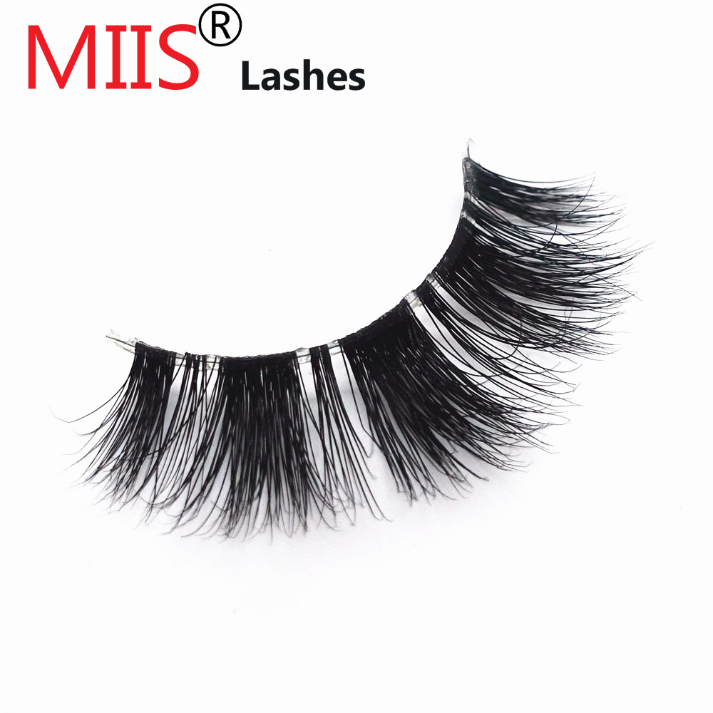 Make Up 2018 False Eyelashes With Custom Logo 3D Mink Lashes