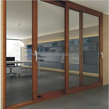 Large Store Doors Sliding Door Aluminum Glass Accordion