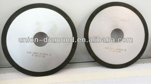 Diamond grinding wheel for cutting