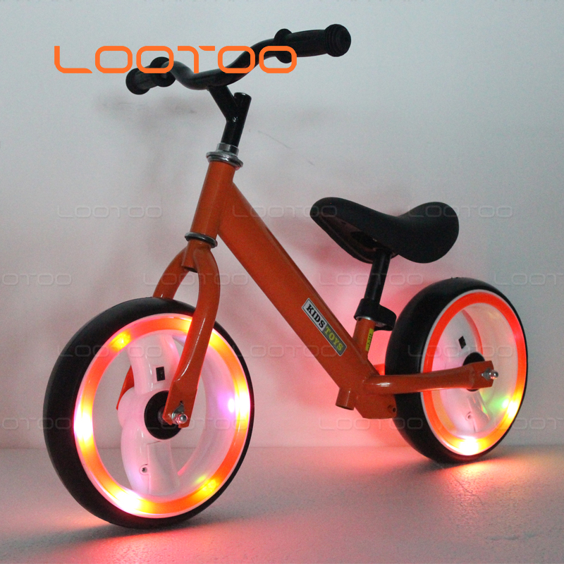 12 inch wheels run scooter training balance kick bike for kids