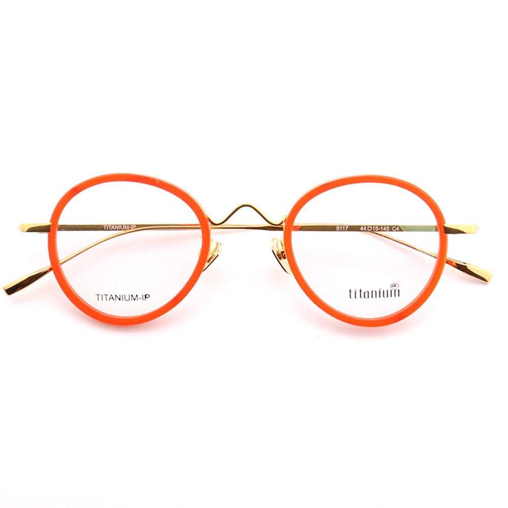 b132e8b7d5b Get Quotations · YOUTOP Unisex Pure Titanium   TR90 Oval Thin Frame  Lightweight Fashion Optical Eyeglasses
