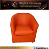 One Seat Rustic Genuine Leather New Sofa Design PFS1521