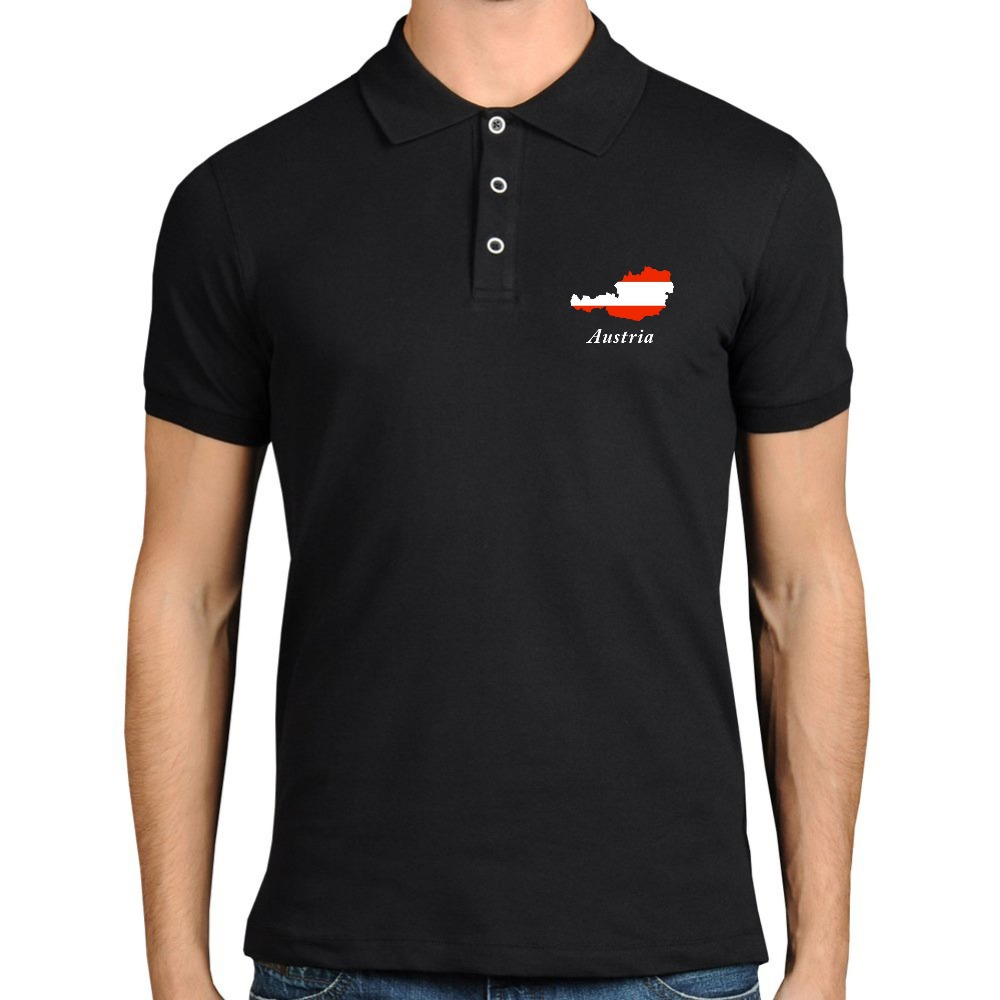 Design t shirt colar - Navy Blue Polo Shirts For Men Fashion Polo Collar Tshirt Design