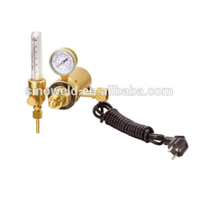 Delivery in time automatic CO2 flow gas regulator heater