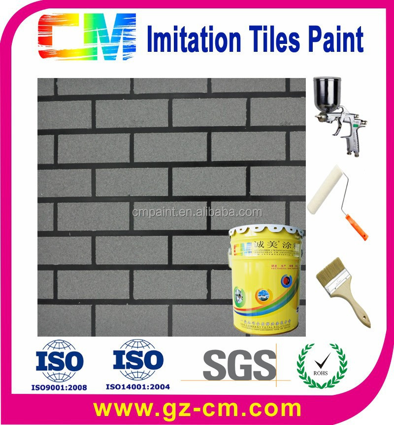 weather resistant exterior acrylic brick wall paint