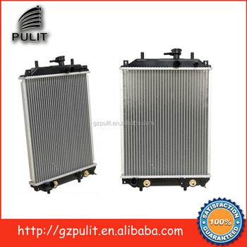 Auto radiator for Daihatsu Mira Move Tanto Turbo 2002- engine cooling car  radiator 16400-B2030-000 16400-B2090-000, View auto radiator, PULIT Product