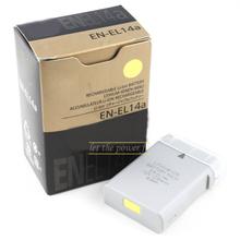 EN-EL14A ENEL14a Rechargeable camera battery pack for Nikon P7100 P7700 P7800 D5300 D5200 D5100 D3300 D3200 D3100