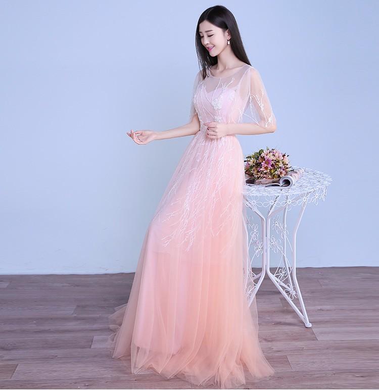 Suzhou Fábrica Venta Directa Rosa Boda Y Vestido De Noche Prom - Buy ...