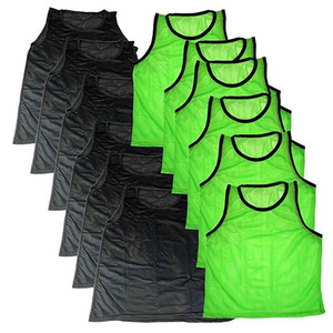 Reversible Team Soccer Bibs Kit Soccer Football Training Vest Bibs