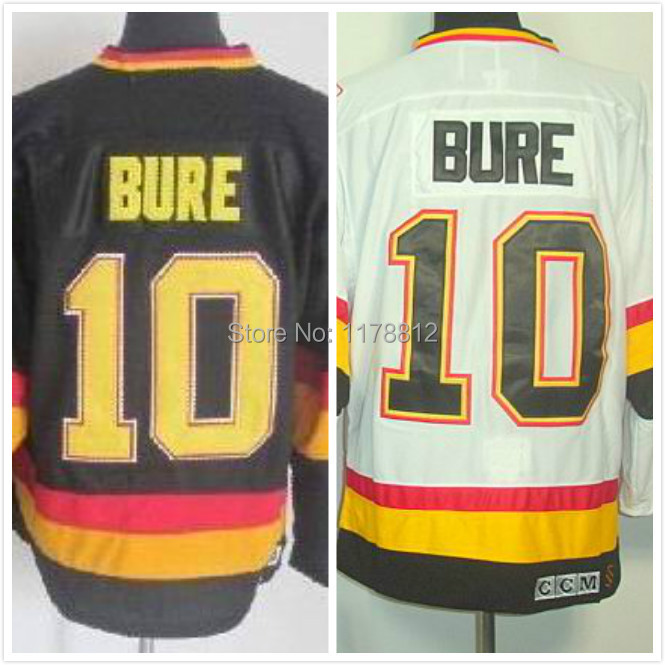 7bdba1cd7a6 415.99 Already have the APP Mens Vancouver Canucks Hockey Jerseys 10 Pavel  Bure Jersey Home Black Vintage Road White CCM ...
