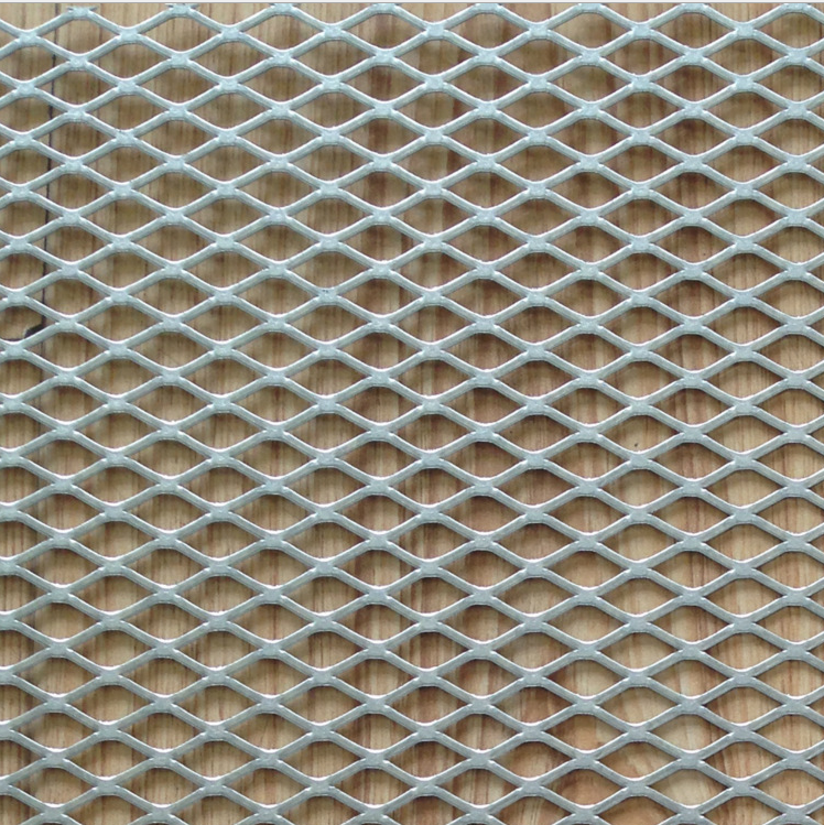 Flattene aluminum expanded metal mesh /alminum expanded wire mesh