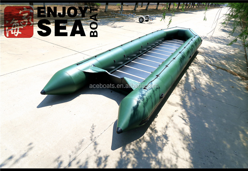 Factory supply new condition 10m long inflatable sports yacht with out board motor for hot sale!