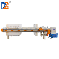 DZ Program controlled 1250 series types of press machine chamber filter press