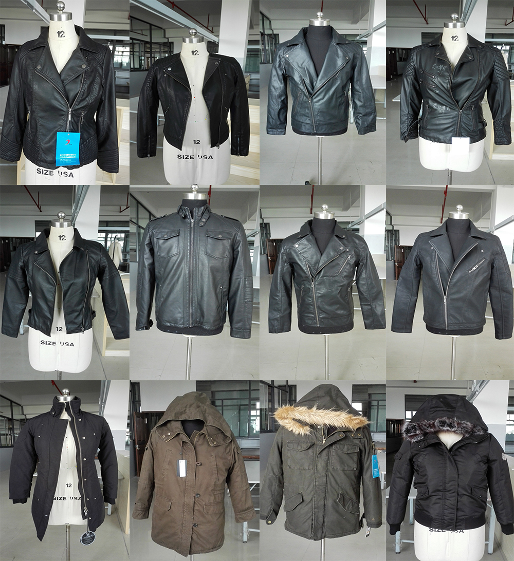 15PKPU02 vegan leather high quality men's winter holiday hot sell leather jacket