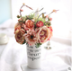 new design real touch hot sell fake flower artificial peony bouquet