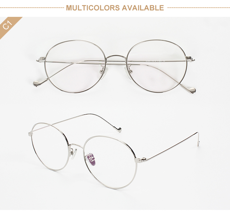 2019 High quality Ultra light Titanium optical frame eyeglasses 8103