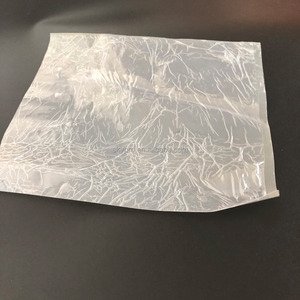 Wholesale transparent super thin film silicon coating plastic rubber sheet