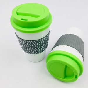 Good Reputation Online Shopping Promotional Travel Mug