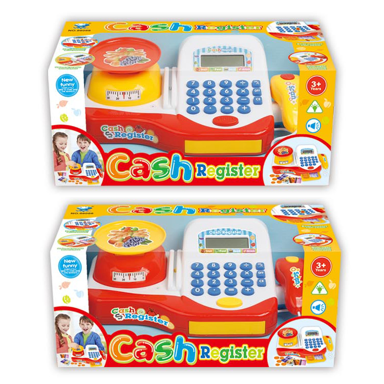 Assort of 2 Funny Supermarket Cashier Play Toys For kids