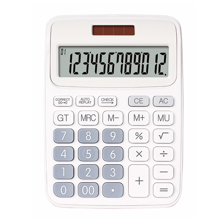Check and correct type CX-116C big LCD display calculator