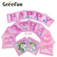 Wholesale Banner Flags for Birthday Party Supplies Decorations Baby Party Kids Birthday Items