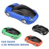 Factory promotional 2.4G wireless car mouse, car shape wireless mouse with custom logo design