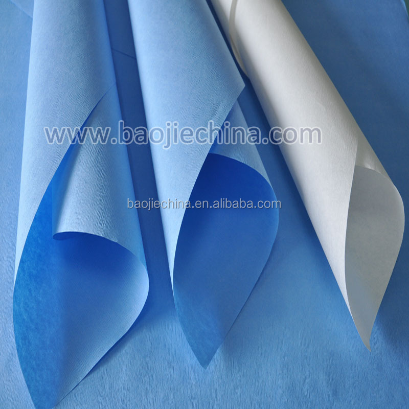 EO Sterile Crepe Wrapping Paper for Surgical Use
