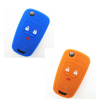 High Quality Lexus Key Shell 3 Button Replacement Silicone Car Key Cases  Silicone Car Key Cover