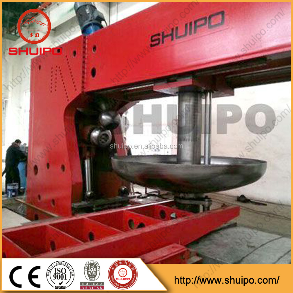 Hydraulic Dished End Configuring Machine Good Quality Dish Head Forming Flanging Machine Press and flanging machine for End head