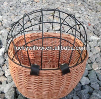 Competent Outdoor Bicycle Basket Environmentally Friendly Rattan Willow Hand Woven Basket Bicycle Accessories Sports & Entertainment Cycling