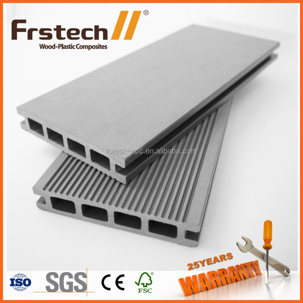 FRSTECH WPC decking / wood plastic composite deck board / WPC factory in China