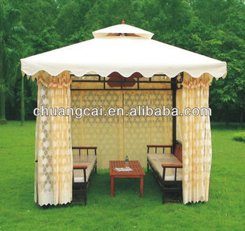 En Bois Jardin Gazebo Tente - Buy Product on Alibaba.com