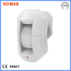 Patent design Curtain type wireless pir detector made in shenzhen China, Wall Mounted Curtain Infrared Detector Motion sensor