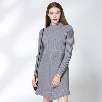 ed0e975cf5b Women Long Sleeves Loose Fit Jumper Sweater Midi Dress Ladies Dinner  Dresses - Buy Ladies Dinner Dresses,Ladies Dinner Dresses,Ladies Dinner  Dresses ...