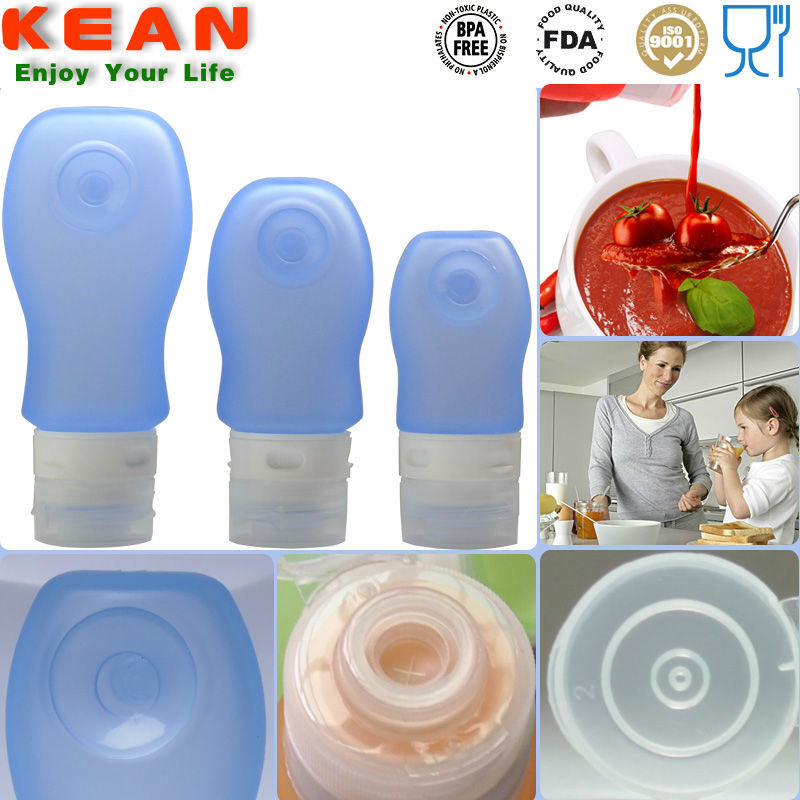 Silicone Cream Cosmetics Plastic Packaging Tube