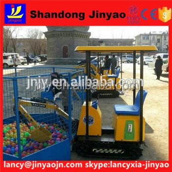 2017 adult ride on small excavator, toy digger sale for discount in world, children excavator hot play in park