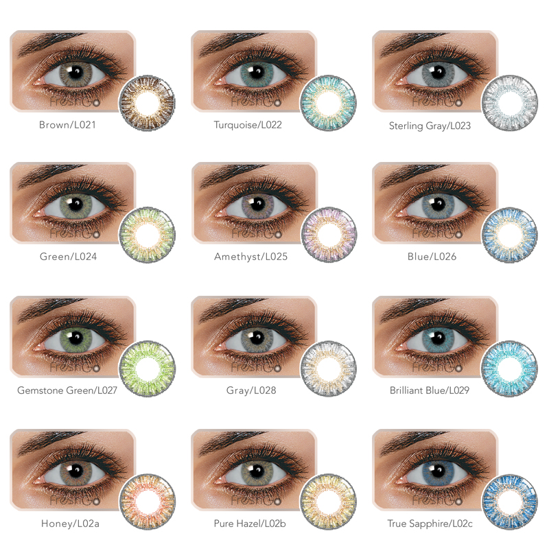 eb8e06e952360 Precio de fábrica meetone lentes de contacto blandas Hollywood cómodo  contactos al por mayor