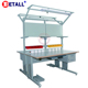 ISO qualified heavy duty Steel double sided metal industrial work table
