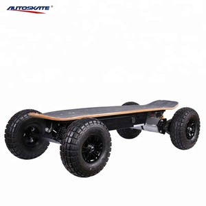 High speed all terrain electric skateboard 1600w