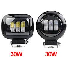 YC-007 Auto-Arbeitslicht CE Rohs-Zertifizierung und LED-Lampenart 24W LED-Arbeitslicht für SUV im Straßenverkehr