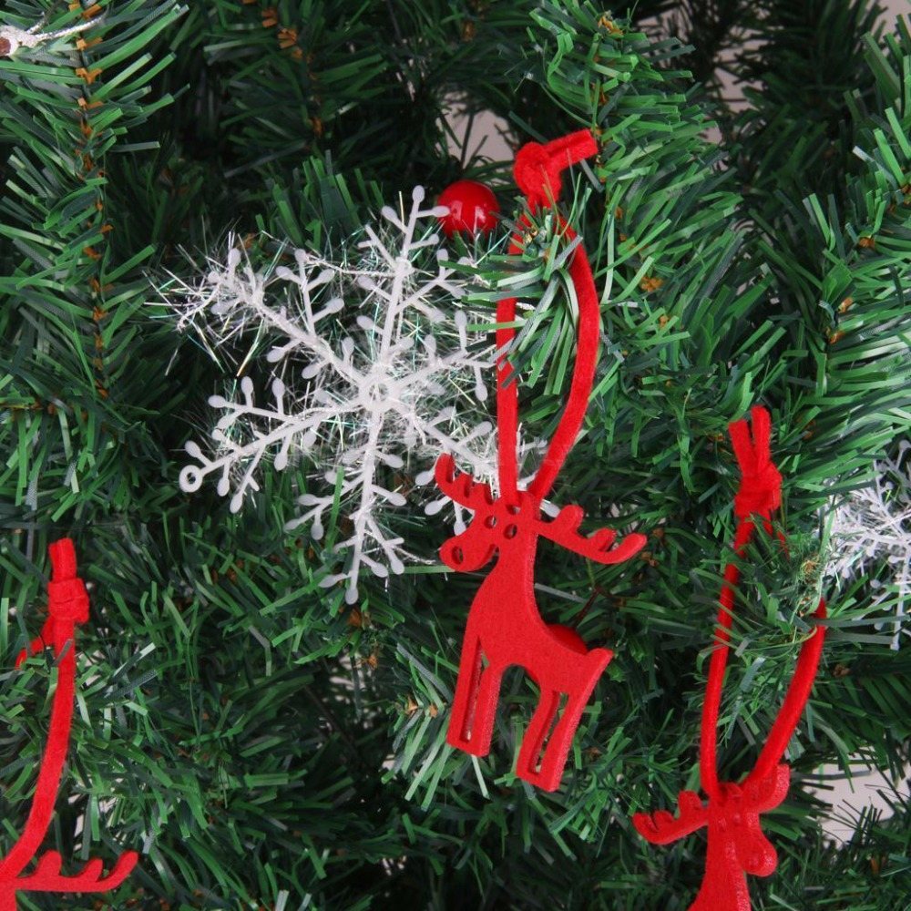 fieltro forma del rbol de navidad rboles de navidad ornamento decorativo percha colgantes artesana