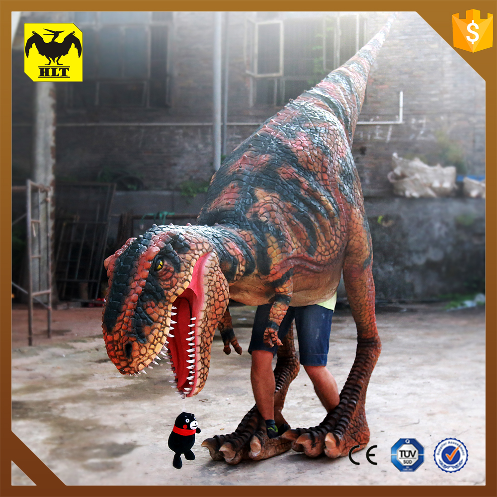 HLT realistic t rex dinosaur cosplay costume for kids
