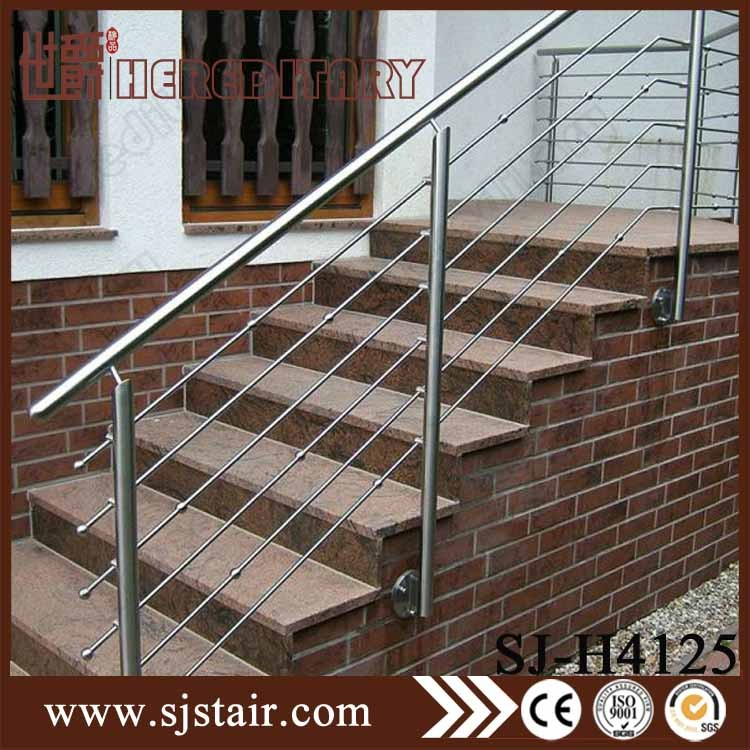 High Polished Stainless Steel Wire Mesh Deck Railing