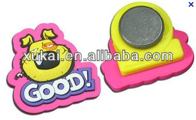 Factory produced 24 letters silicone/soft PVC magnet fridge