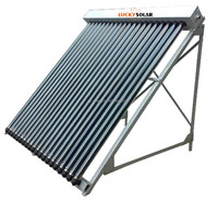 Heat Pipe High Pressure Solar Water heater Cell panel
