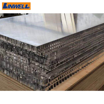 Aluminum Honeycomb core foam sandwich panel/composite board