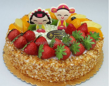 Birthday Cakes Gifts Images ~ Wholesale fake birthday cake model with fake fruits for shop gifts