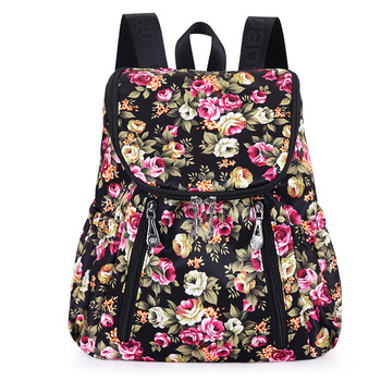 Printed School Bag Korean Teenager Girls Back Pack Cute Backpacks
